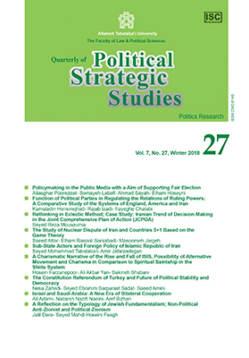 Strategic Research of Politics